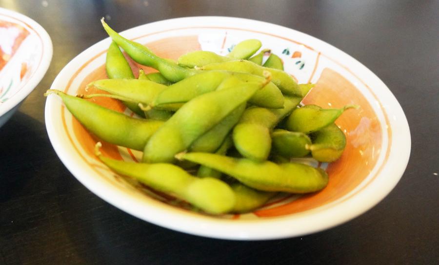 かつ雅の枝豆