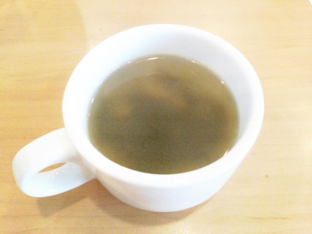 ガストのわかめスープ