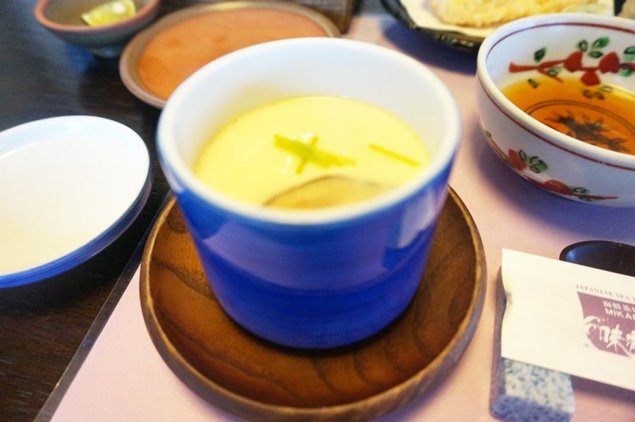 海鮮茶屋味香美の茶碗蒸し