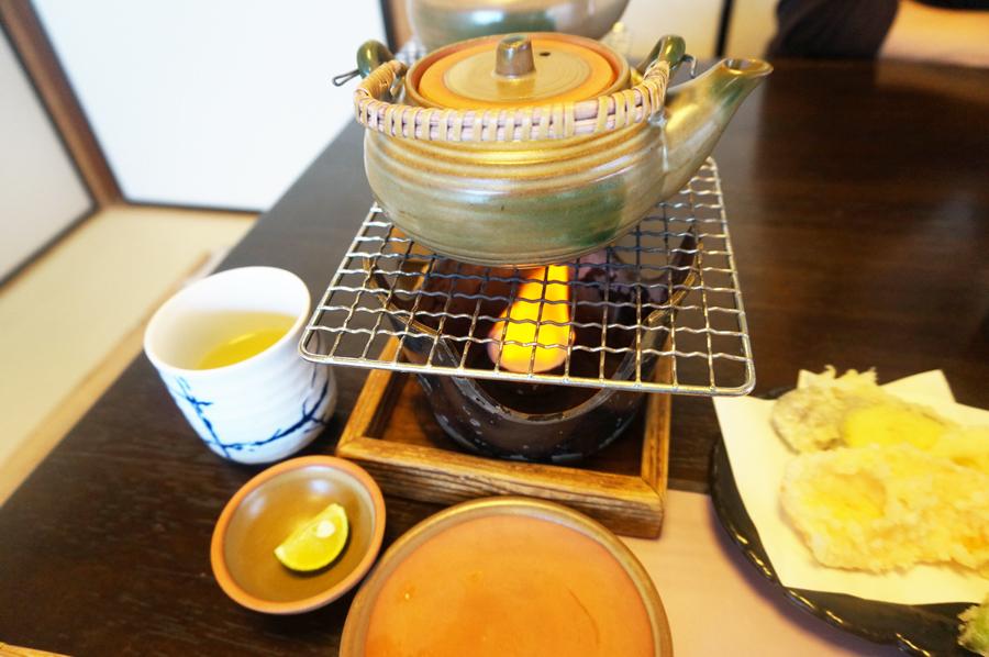 海鮮茶屋味香美の土瓶蒸し