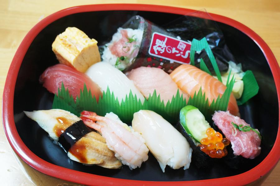 銀のさら宅配寿司