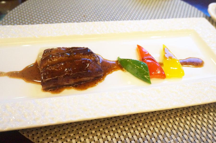 中国料理柳城ウェスティン ナゴヤ キャッスルの肉料理