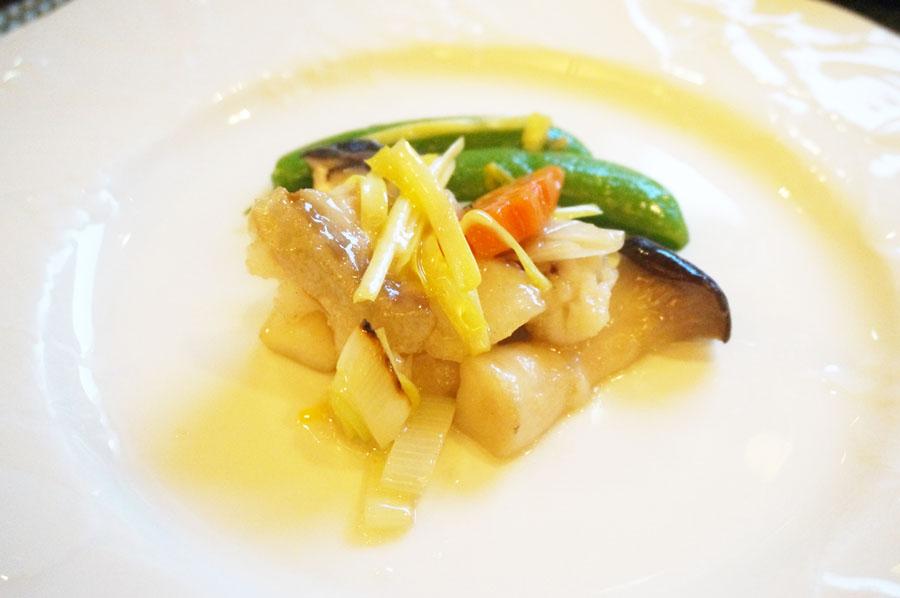 中国料理柳城ウェスティン ナゴヤ キャッスルの魚料理