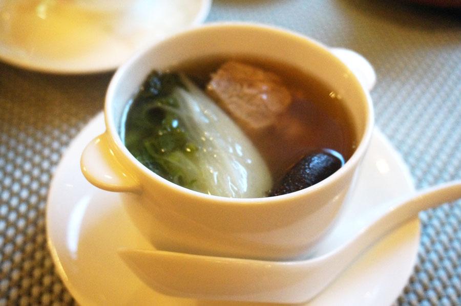 中国料理柳城ウェスティン ナゴヤ キャッスルのスープ