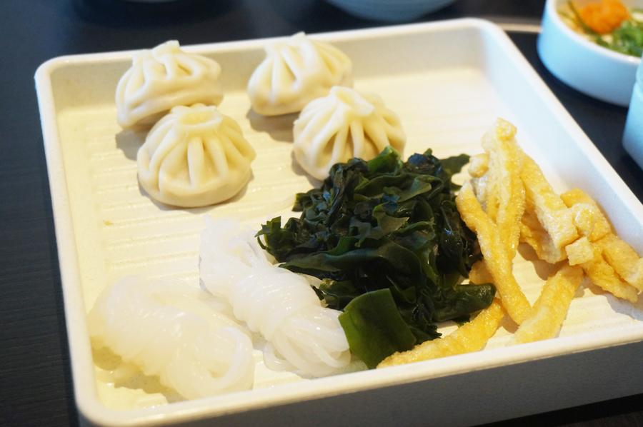 和食さとしゃぶしゃぶ食べ放題プレミアムコース鍋の具