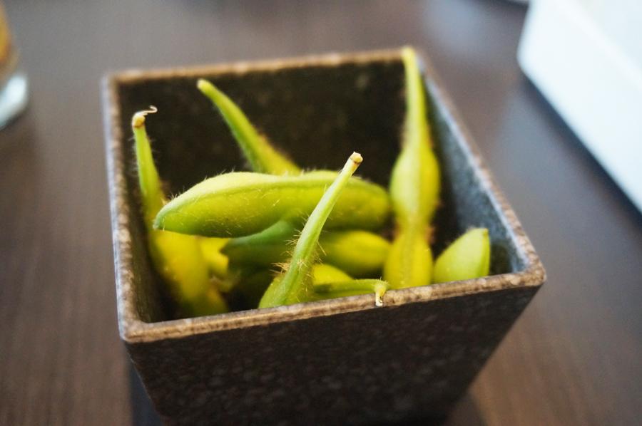 和食さとしゃぶしゃぶ食べ放題プレミアムコース枝豆
