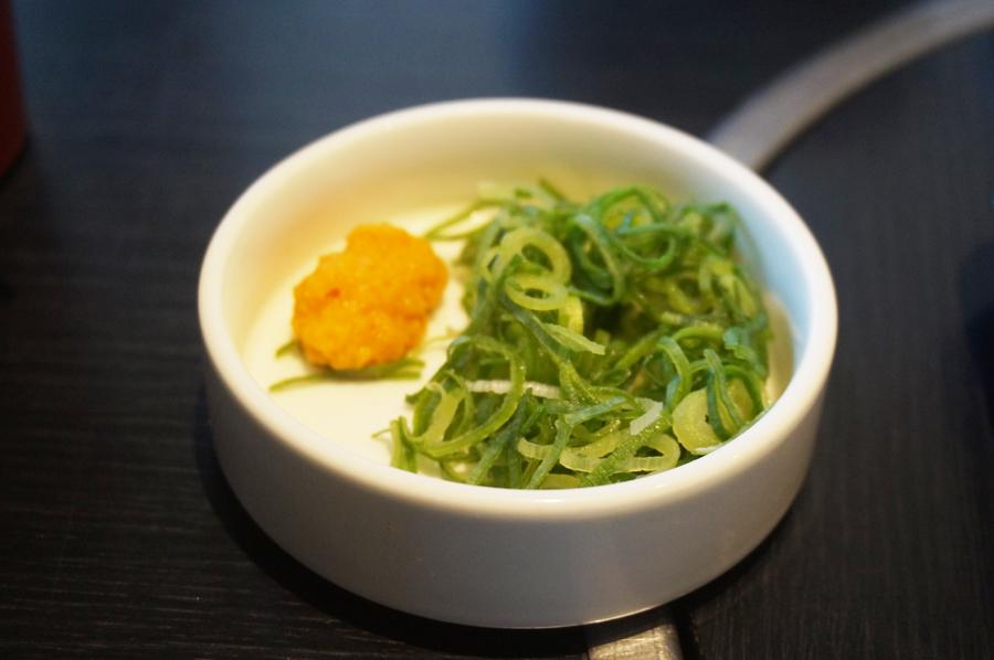 和食さとしゃぶしゃぶ食べ放題プレミアムコース薬味