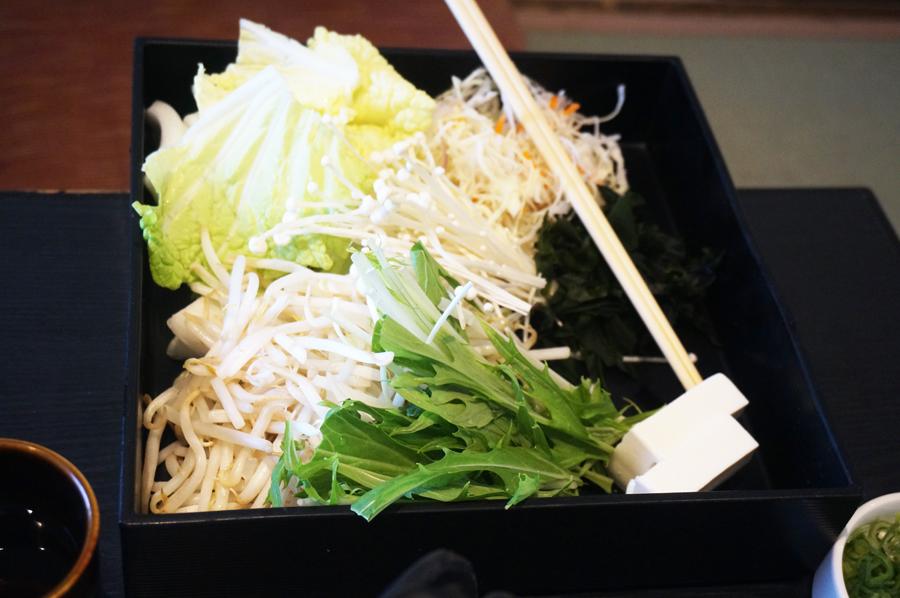 和食さとしゃぶしゃぶ食べ放題プレミアムコース野菜