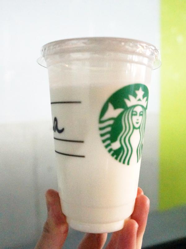 スタバのキッズミルク