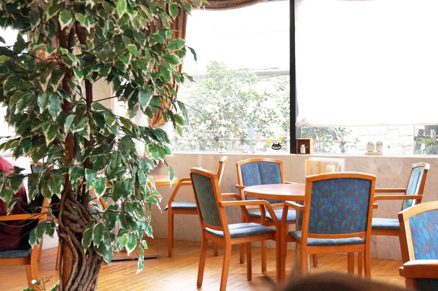 小牧市民病院喫茶やすら木