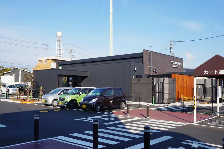 スターバックスコーヒー春日井勝川店