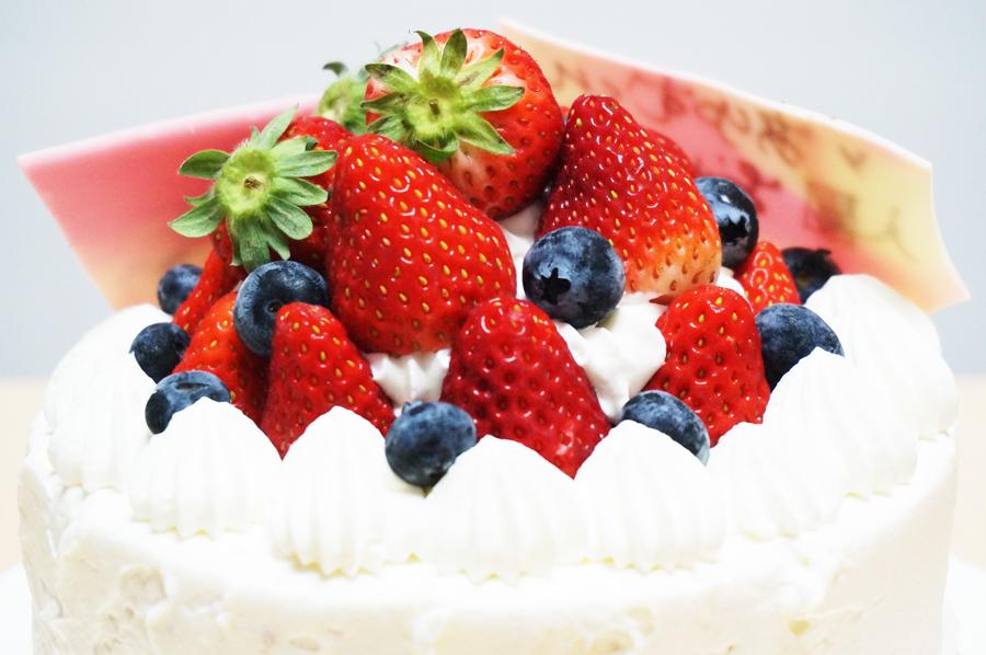 パティスリーメリメロのお誕生日ケーキ