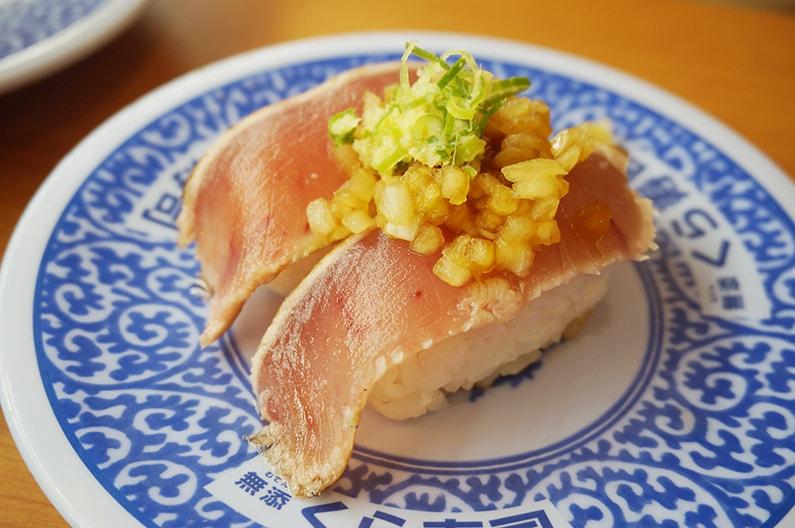 くら寿司のメニュー